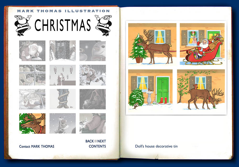Christmas illustrations by Mark Thomas. Please note this is a UK based all image site